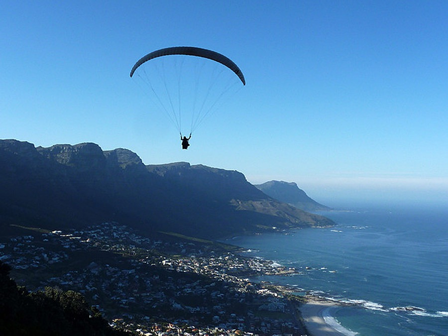 Cape-Town-Paragliding Abseiling